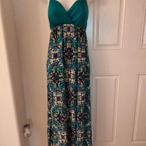 No boundaries summer maxi dress. Adjustable straps
